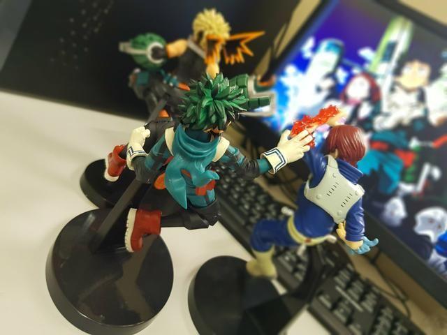 Bonecos de Boku no Hero - Foto 4