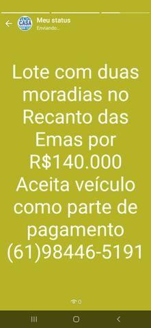 C a sa com 3 qts. Suíte na Ponte Alta R$600.000,00  * - Foto 6