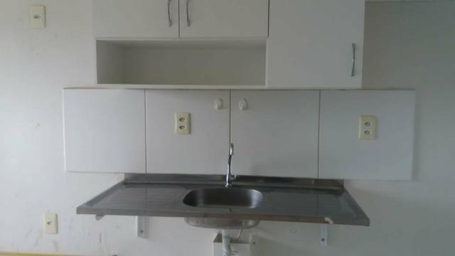 Apartamento 2qt com garagem, Manguinhos - Foto 6