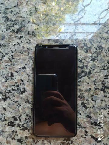 Vendo Celular J8 64 GB Novo Perfeito Estado sem nenhum Trincado - Foto 2