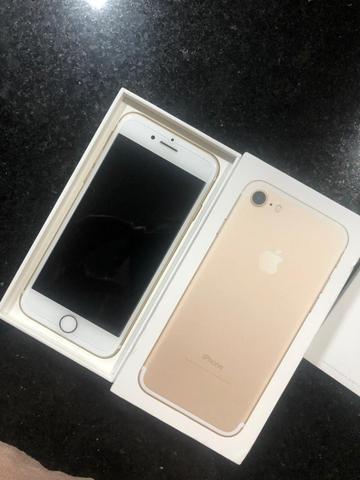 IPhone 7 128g dourado - Foto 5