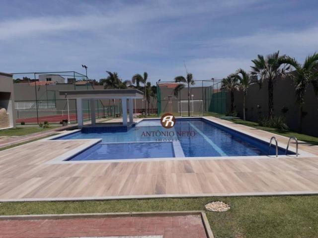 Apartamento NOVO com 3 dormitórios para alugar, 65 m² por R$ 1.150/mês - Messejana - Forta - Foto 7