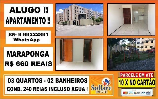Alugo Apartamento na Maraponga , Palace de France I : Paulo 85- 9  * WhatsApp