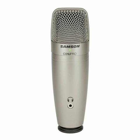 Microfone Samson C01U Pro Estúdio USB condensador estúdio profissional - Foto 3