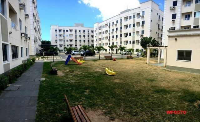 AP1601 Condomínio Vitalice, apartamento em messejana, 2 quartos, área de lazer completa - Foto 4