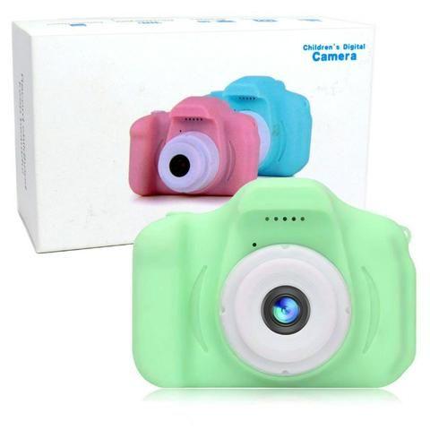 Câmera Digital Para Crianças LP005 Infantil Display 2 Pol HD Recarregável Prova de Choque - Foto 3