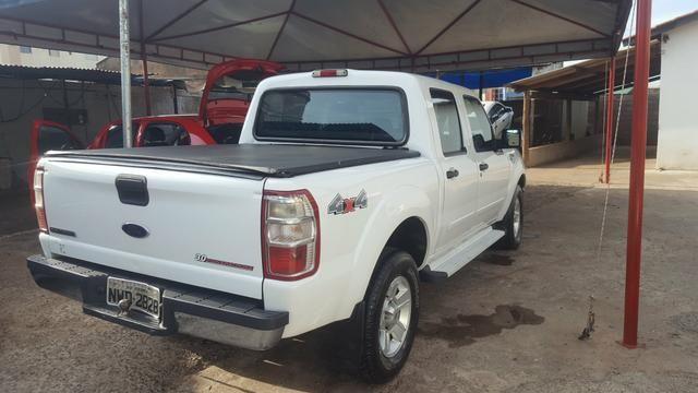 Ford Ranger 3.0 XLT 4x4 Diesel 2011/2012 Único Dono Branca - Foto 4