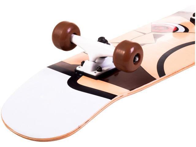 Skate longboard - Novo na caixa Infanto/Juvenil - Foto 2