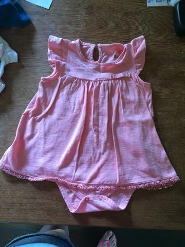 Body vestido 12-18 meses