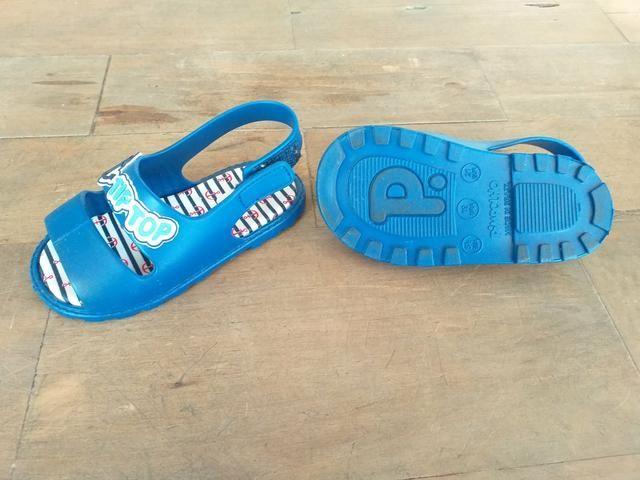 Sandália de menino