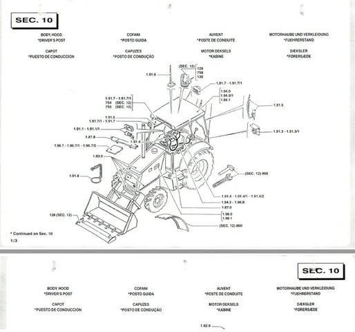 Catálogo peças, manual, Ad7b, Uniport, FG85, FR12, FB80, 70ci, FH200, 4CT - Foto 6