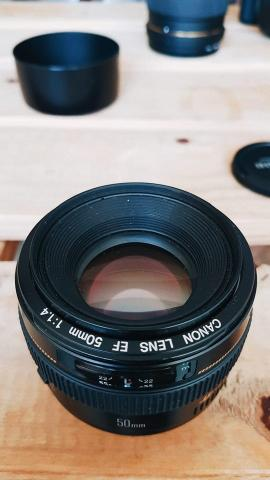 Lente Canon 50mm f1,4 USM - Foto 2