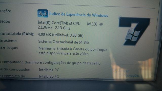 Notebook Intel i3 - Foto 3