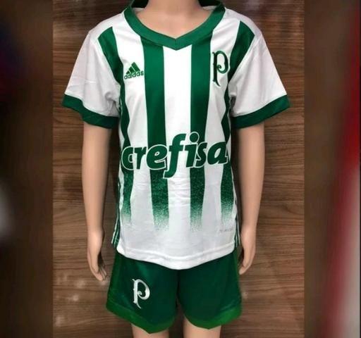be2ab896c0 Conjunto infantil Palmeiras Adidas 2018 - Roupas e calçados - Sítio ...