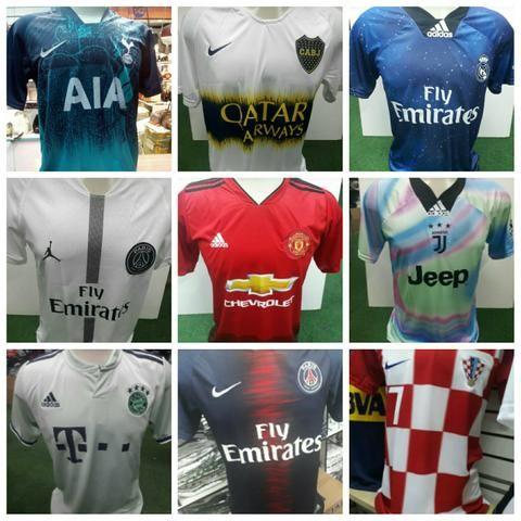 Camisas Time Futebol e Basquete - Roupas e calçados - Centro b1521a7006ff9