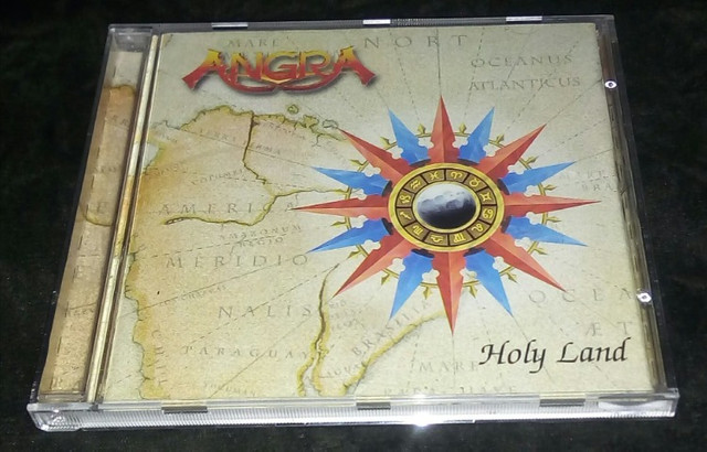 Angra-Holy Land (Rhapsody,Helloween,Shaman.)