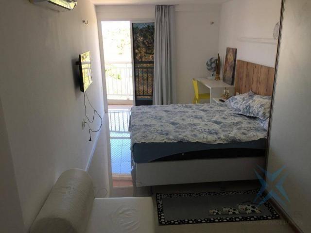 Apartamento Solarium, com 3 dormitórios à venda, 87 m² por R$ 450.000 - Porto das Dunas -  - Foto 12