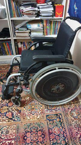 Cadeira de Rodas Ortobras Usada R$1000,0 - Foto 2
