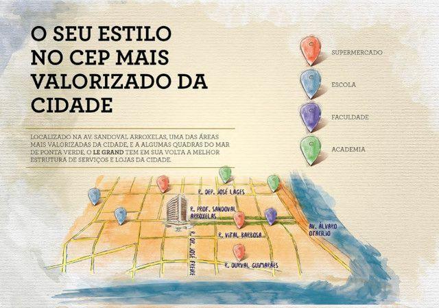 Apartamento na Ponta Verder, 2 quartos na Rua Prof. Sandoval Arroxelas - Foto 6