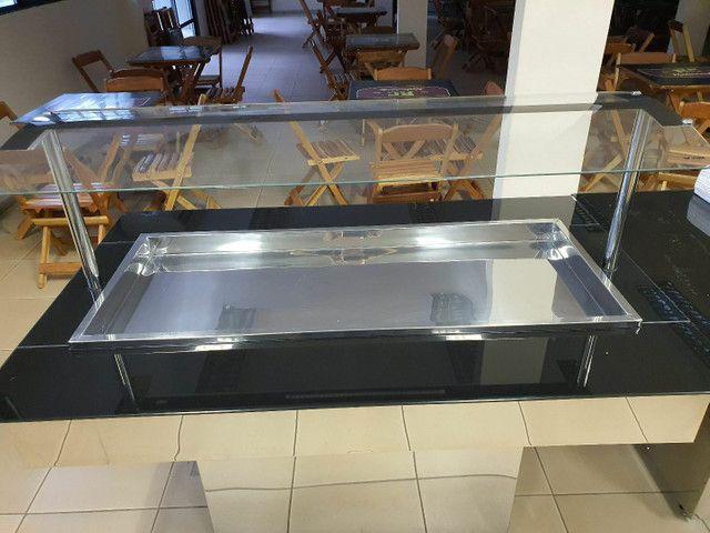 Buffets quente e frio (SEMINOVOS) - Foto 4