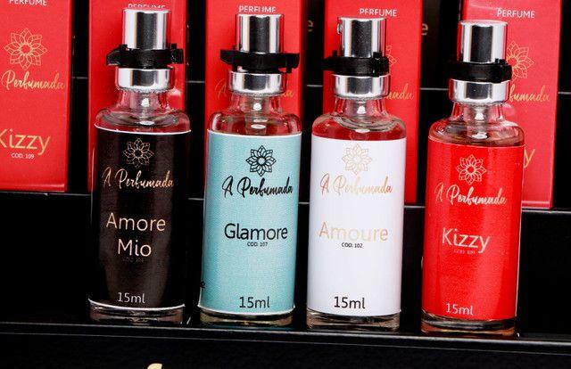 Revenda perfumes de 15 ml