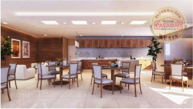 Apartamento com 2 dormitórios à venda, 77 m² por R$ 419.958 - Maracanã - Praia Grande - Foto 12