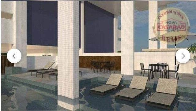 Apartamento com 2 dormitórios à venda, 70 m² por R$ 350.000 - Mirim - Praia Grande/SP - Foto 7