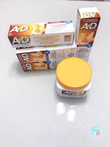 Pomada A+D de prevenção de assaduras - original dos EUA - Foto 2