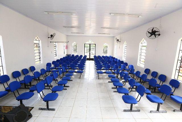 Cadeiras e Poltronas para Igrejas, Auditórios e Salas de Aula - Foto 4