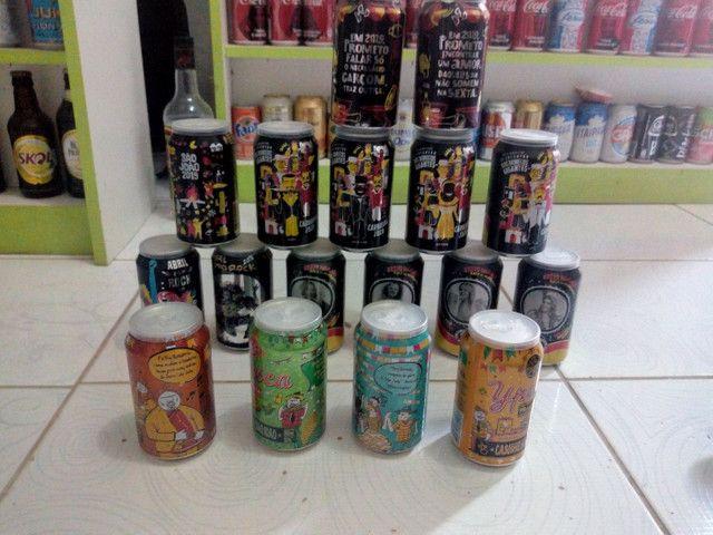 Pitu latas comemorativas colecionáveis - Foto 2