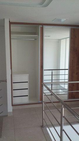 Duplex (LOFT) com 01 Suite no Residencial Lozandes Live Tower montado em armários - Foto 9