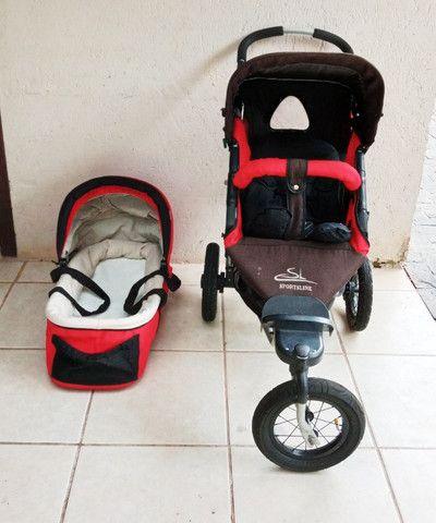 Carrinho de bebê importado knorr