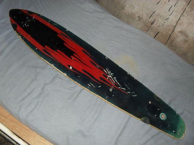 Shape de skate longboard de maple