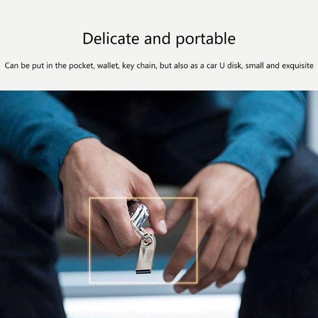 Pen Drive Metal Usb De Alta Velocidade 2t / Memória / Pendrive / Flash U Disk - Foto 3