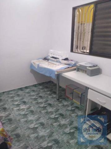 Casa com 3 dormitórios à venda, 100 m² por R$ 381.000,00 - Santa Maria - Santos/SP - Foto 5