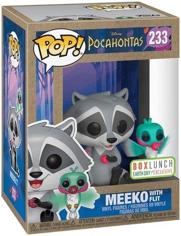 Funko POP! Disney: Pocahontas #233 - Meeko with Flit Earth Day - Foto 2