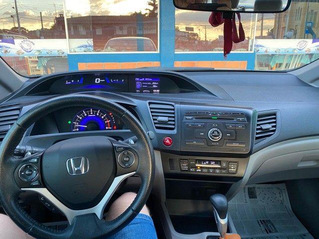 Honda Civic LXR 2016 Apenas 55 mil km  - Foto 6
