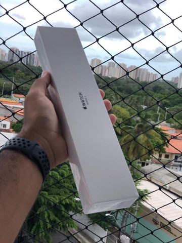 Apple Watch Series 3 42mm Preto - Novo e Lacrado - Foto 2