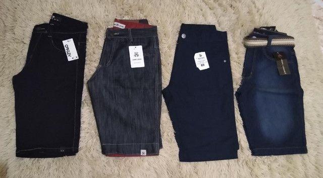Excelentes Bermudas Jeans Masculinas - Foto 4