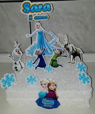 Topod e bolo - Frozen