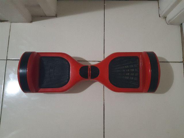 Hoverboard vermelho com bluetooth