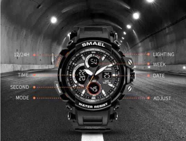Relógio Smael Militar Digital - Foto 2
