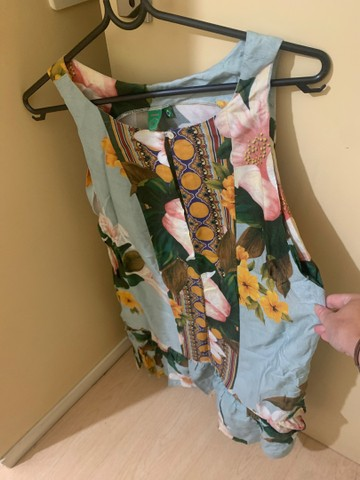 Vestidinho da farm tamanho G usado 1 vez!!