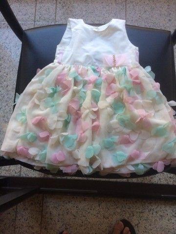 Vestido de infantil festa