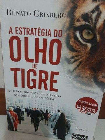 Livro: A Estratégia do Olho de Tigre - Foto 2