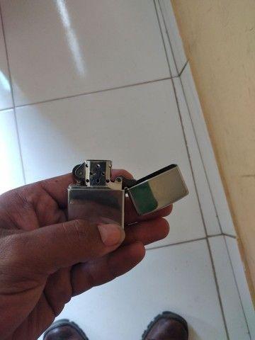 Esqueiro zippo 13 fabricado na  usa aço inox pra colecionador