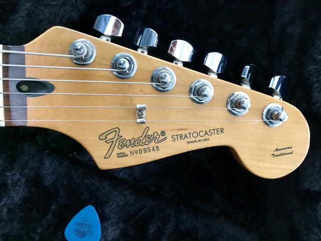 Fender Stratocaster american traditional