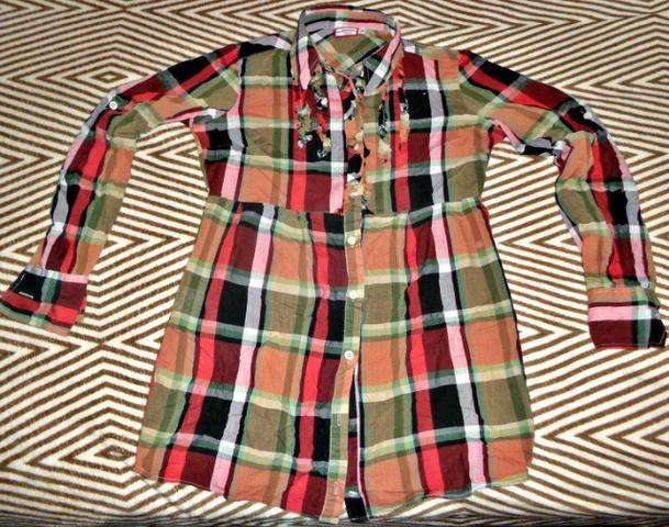 2f36835a13 Blusa xadrez feminina - Roupas e calçados - Mangueirão