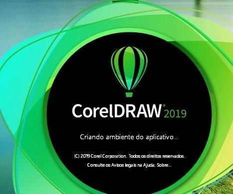 Corel draw 2019, x 64 bits+video aula ensinando a instalar e ativar + pasta  de atualização