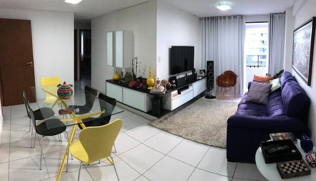 Apt com 3 quartos na Ponta Verde - 96m² - Foto 10
